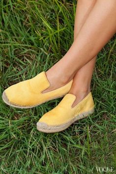 #shoes #yellow #summer #picnic #comfy