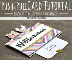 Kartenwind: Tutorial Ziehkarte Push and Pull Card | danipeuss Designteam Blog…