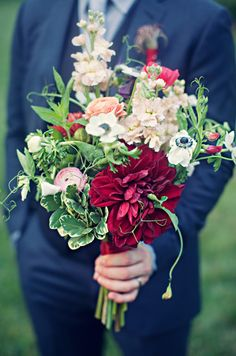 wild and organic bouquet from EcoFlora // photo by Clayton Austin