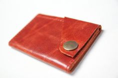 leather wrap wallet.