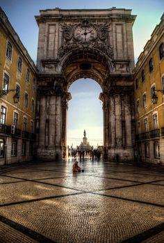 """Relógio da Rua Augusta"" | Augusta street clock | #Lisbon | #Portugal #travel"