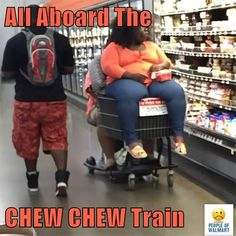 All Aboard The   CHEW CHEW Train