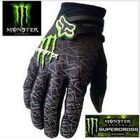 Monster Fox racing gloves