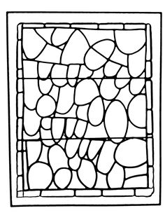 Free Coloring Page Adult Stained Glass Chapelle Prieure De