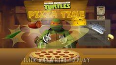 Teenage Mutant Ninja Turtles Pizza Time game online