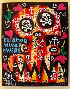 Super-Macho Blogo!!!: DIA DE TUS MUERTOS ART SHOW