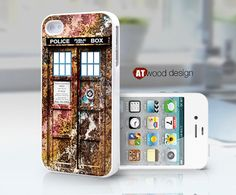 Doctor Who Tardis iphone case iphone 4s case New by Atwoodting, $8.99
