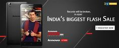 Lenovo A6000 Plus with 2 GB RAM and 16 GB ROM at Rs 7499 on Flipkart. Register now for the Sale -> http://fkrt.it/asBrrzNN