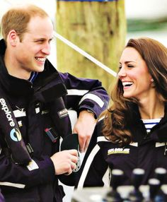 The Duke and Duchess of Cambridge in New Zealand, April 2014.