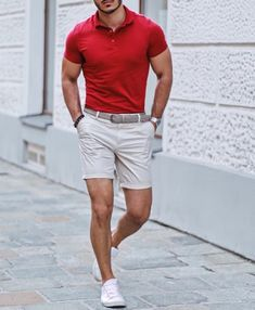 Fashion Tips For Women Outfits 64 Trendy Summer Men Fashion Ideas For You To Try - Man Fashion Summer Outfits Men, Stylish Mens Outfits, Casual Summer Outfits, Short Outfits, Summer Men, Moda Formal, Mode Outfits, Mens Clothing Styles, Men Casual