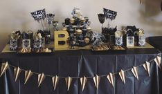 Black Panther Birthday Table