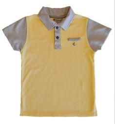 Boys Shirts, Boy Outfits, Etsy Shop, Gray, Yellow, Cotton, Mens Tops, Shopping, Fashion