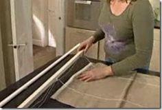 Como fazer uma cortina romana, passo-a-passo - Vila do Artesão
