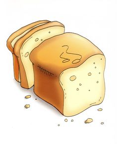 clipart gesneden brood