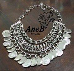 671f1dfb92da Collar Mujer - Pechera Alta Moda -   219