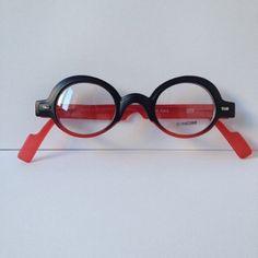 7e1feca1c8 Designer Optical Frames or Reading Glasses   Matte Black   Red Frame  Red  Temples
