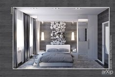 Интерьер спальни в квартире: интерьер, квартира, дом, спальня, минимализм, 10 - 20 м2 #interiordesign #apartment #house #bedroom #dormitory #bedchamber #dorm #roost #minimalism #10_20m2 arXip.com