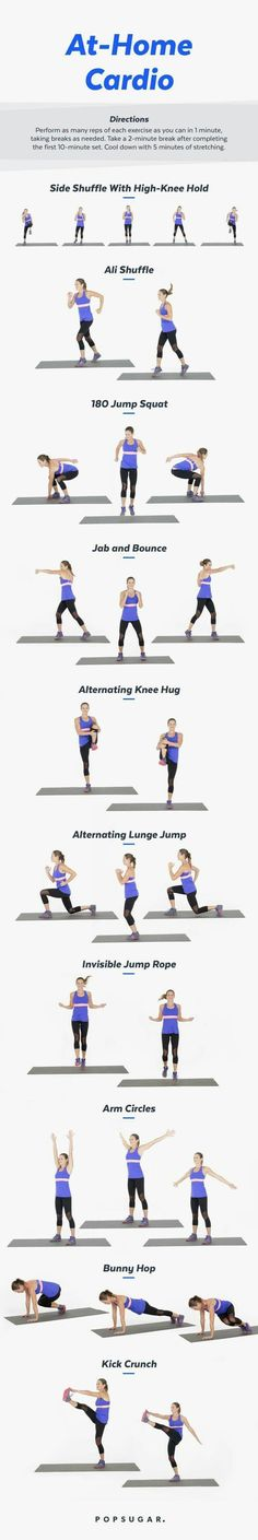 at home cardio moves