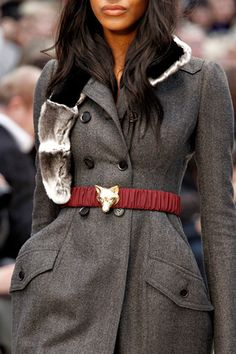 burberry prorsum - i need this belt in my life