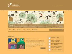 Futurika is an easy way to make your site attractive and usable for your visitors. The theme comes with easy-to-use administrative panel and lots of configurations provide a great base to build on. Premium Wordpress Themes, Blog Design, Base, Make It Yourself