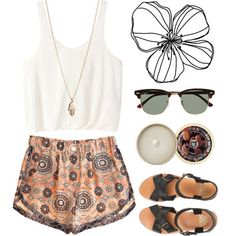 Love this outfit. Great for a warm summer day-vacation fit