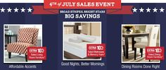 Overstock 4th of July Big Sales and Discount on Home Decor and Furniture