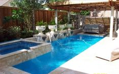 Exterior Small Backyard Pool Ideas Besf Of Ideas Pool Inground Pool Designs For Concrete Pools Home Swimming Pool Pool Design Houston Pool Contractors Pool Pumps Pool Remodel Heated Pools Backyard Swimming Pool Small Yard Pool Design Smal Inground Pool Designs, Small Inground Swimming Pools, Swimming Pools Backyard, Swimming Pool Designs, Pool Landscaping, Lap Pools, Gunite Pool, Small Backyard Design, Backyard Pool Designs