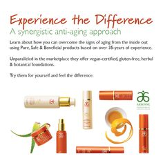 It is easier to keep skin looking and feeling young than having to undo the aging process. That's why I use Arbonne's RE9 Anti-Aging products daily. They keep my skin looking young and fresh as well as smelling and feeling amazing. Learn more at: http://www.kristinridley.arbonne.com
