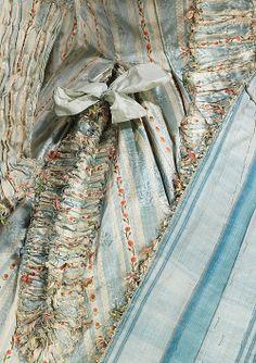 Tea at Trianon: A Silk Dress, 1780. Delicious.