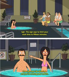 bob's burgers | running your mouth