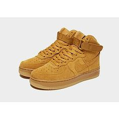 Nike Air Force 1 Mid Junior Air Force 1 Mid, Nike Air Force, Yellow Nikes, Jd Sports, Sport Fashion, Trainers, Sneakers Nike, Footwear, Orange