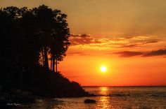 Lake Ontario Sunset Artwork: #6 of 59 by Mark Papke
