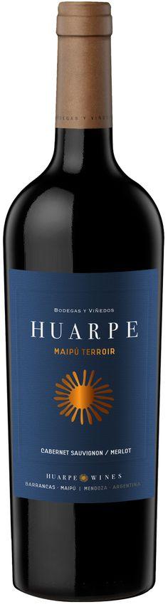 """""""Huarpe Maipú Terroir"""" 70% Cabernet Sauvignon / 30% Merlot 2010 - Bodega Huarpe, Luján de Cuyo, Mendoza-------------------Terroir: Barrancas-----------------Crianza: 14 meses en barricas de roble francés de 1er uso"""