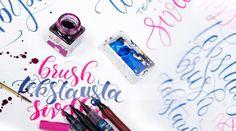Brushlettering ja handlettering kursseja Verstas247:lla Enamel, Accessories, Vitreous Enamel, Enamels, Tooth Enamel, Glaze, Jewelry Accessories