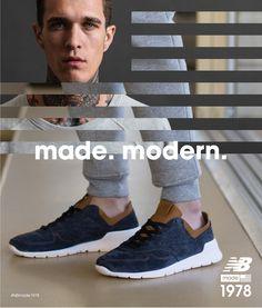 ML1978NV New Balance przedstawia nową generację obuwia spod znaku Made In the USA.  Naturalna ewolucja naszych kunsztownie wykonywanych butów, wyraża się w najwyższej jakości zamszu i zupełnie nowej podeszwie zewnętrznej Vibram.
