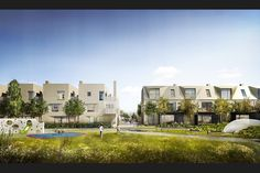 Housing by Alison Brooks Architects and Pollard Thomas Edwards for the North West Cambridge Development