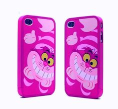 cute Cheshire Cat Alice in wonderland Disney Hard Cover Case for iphone 4 4G 4s
