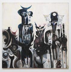 Ibrahim El-Salahi, 'Reborn Sounds of Childhood Dreams I' 1961–5