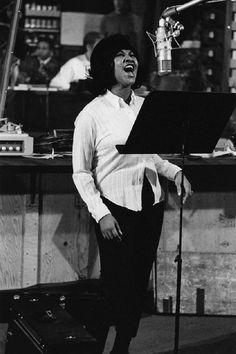 Aretha Franklin, 1967. Photo by David Gahr.