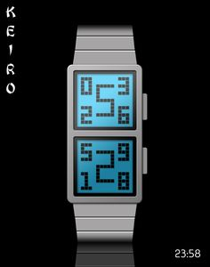 """Keiro"" concept watch design on the Tokyoflash blog."