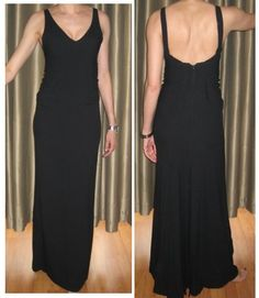 Ralph Lauren purple label gown. Sleeveless, v neck dress with back zip. Features release pleat detail. NWT! SIZE 2.