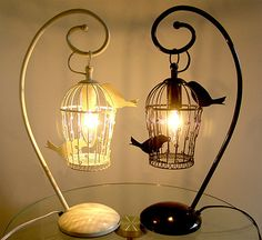 Birdcage Lamp from Matomeno.com