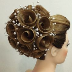 This Stylist's Impossibly Intricate Hair Masterpieces Will Blow Your Mind – friseur Braid Game, Competition Hair, Ballroom Hair, Natural Hair Styles, Long Hair Styles, Fantasy Hair, Crazy Hair, Bride Hairstyles, Hair Art