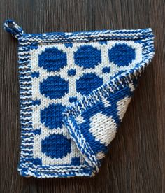 Knitting Patterns Free, Free Knitting, Knitting Ideas, Marimekko, Hot Pads, Crochet, Pot Holders, Presents, Textiles