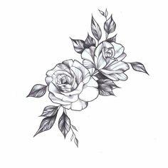 Gardenia: purity and sweetness - tatoo feminina - tattoo feminina delic Rose Arm Tattoos, Flower Tattoos, Body Art Tattoos, Small Tattoos, Sleeve Tattoos, Owl Tattoos, Heart Tattoos, Cat Tattoo, Rose Drawing Tattoo