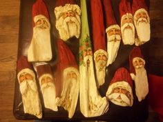 Driftwood Santa's..A collection