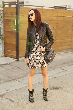 Chriselle Lim : Chrisellefactor blog Anine Bing Jacket, Isabel Marant milwaukee boots