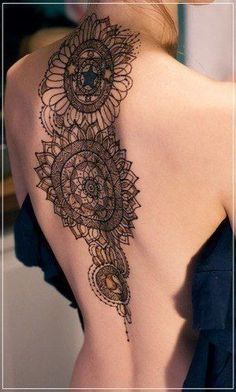 how to draw henna on back - Google Search