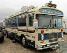 Can you guess what year? Bluebird Buses, Cool Rvs, School Bus Conversion, Bus Camper, Bluebirds, House On Wheels, Vroom Vroom, Motorhome, Recreational Vehicles