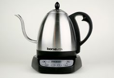 It's Coffee Week!! Bonavita Variable Temperature Gooseneck Electric Kettle.